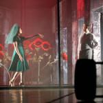"""""""O Amor e outros Rumores"""", durante mostra de repertório do Grupo 3 de Teatro (Sérgio Cardoso)."""